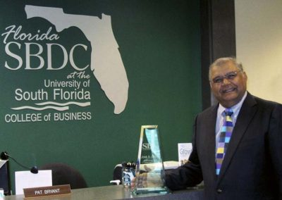 2011 Florida Business Person of the Year South Florida District and State Winner - Tampa, FL