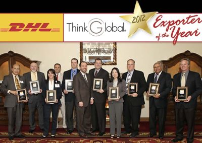 2012 Think Global Exporter of the Year Award (Agriculture)